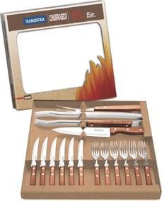 Kit para churrasco 15 peças - Pampa - Tramontina