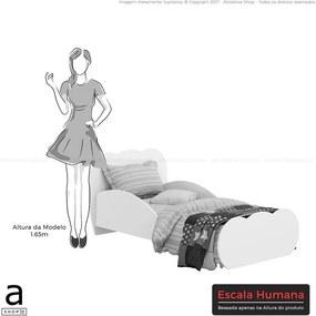 Cama Sonho Infantil C/ Proteção Lateral Rosa Premium