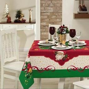 Toalha de Mesa Retangular 6 Lugares Natal