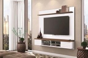 Home Painel Suspenso para TV até 70 Polegadas Esplendor Branco/Malte - Mobler