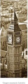 Poster Big Ben - Londres- Vs Sépia (170x60cm, Apenas Impressão)
