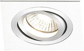 Embutido Ecco Quadrado 1X Minidicroica G4 Branco - Bella Iluminação - NS5101B