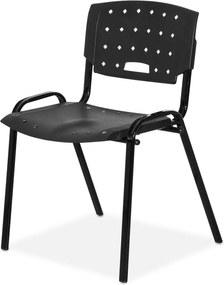 Cadeira Plastica Fit Preto Giobel