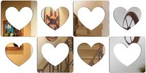 Espelho Love Decor Decorativo Coração Único