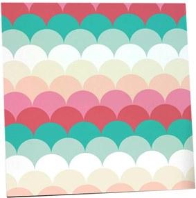 Placa Decorativa Decohouse Placa Multicolorido