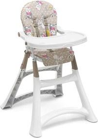 Cadeira De RefeiçÁo Alta Premium Ursinha