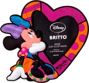 Porta-Retrato Imantado Disney Minnie em Vinil Multicolorido - 11x10 cm