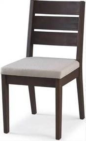 Cadeira Assento Estofado Fortaleza Stain Nogueira - 35427 Sun House