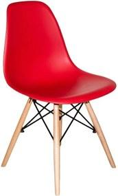 Cadeira Megral em Polipropileno Vermelha