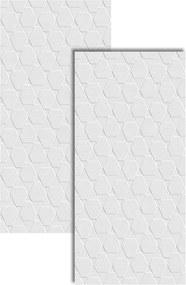 Revestimento Canelado Branco Brilhante Retificado 43,2x91cm - 2950 - Ceusa - Ceusa