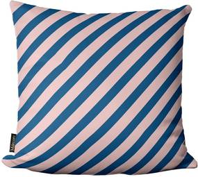 Capa para Almofada de Páscoa Listra Azul Rosa 45x4545x45cm