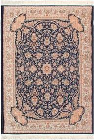 Tapete Iraniano Kashan na Cor Azul - 120x75cm