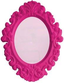 Espelho Oval Big Princess Pink - Urban - 68x50 cm