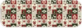 Passadeira Love Decor Wevans Natal Premium Off White