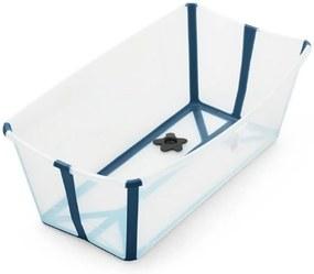 Banheira Flexível Azul com Plug Térmico Stokke Banheira Flexível Azul com Plug Térmico Stokke
