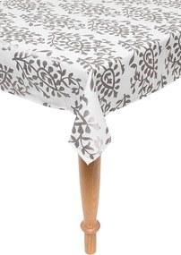 Toalha de Mesa Retangular Corttex Home Design Toscana Arezzo Cinza