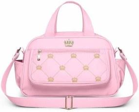 Bolsa Para Viagem Térmica Vitoria P Nitex Rosa - Classic For Baby Bags