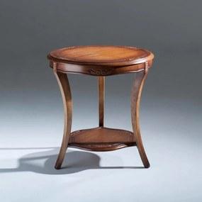 Mesa de Canto Ellos Decorativa Madeira Maciça Design Clássico Avi Móveis