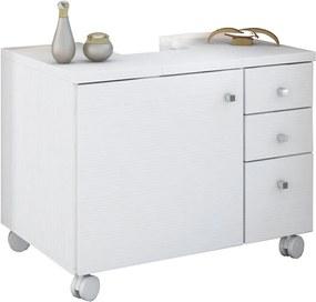 Gabinete Banheiro Branco Textura Albatroz