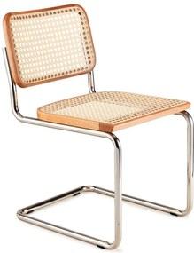 Cadeira Cesca Trama Palha Sintética Clássica Design by Marcel Breuer