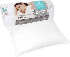Travesseiro Santista Firme Rolinho 50x70cm Branco