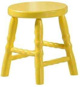 Banqueta Infantil Dallas - Amarelo