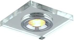 Embutido Cristal Shine 1X Mini Dicróica - Bella Iluminação - YD1044