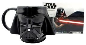 Caneca 3D Formato Darth Vader Star Wars 500 ml