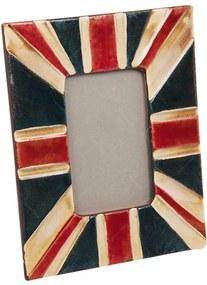 Porta-Retrato London Envelhecido em Cerâmica - 25x20 cm