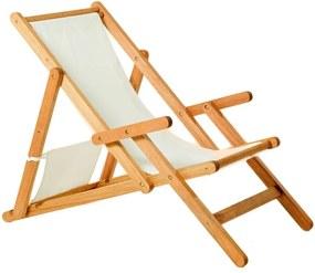 Cadeira Opi Dobrável Com Braços - Wood Prime MR 248765