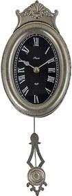 Relógio de Parede com Pêndulo Oval
