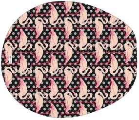 Jogo de Banheiro Flamingo PretoÚnico