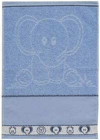 Toalha de Lavabo Baby Kids Para Bordar - Azul - Döhler