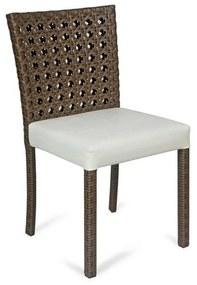 Cadeira Florença Área Externa Fibra Sintética Estrutura Alumínio Eco Friendly Design Scaburi