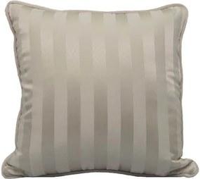 Almofada Listras Brancas  50x50 cm - Classic