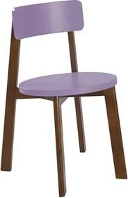 Cadeira Rupin em Madeira Maciça - Lilás