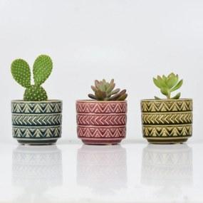 Jogo Kasa Ideia com 3 Vasos Victorian