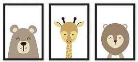 Composição Emoldurado Safari