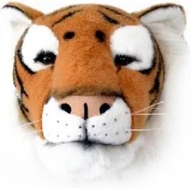 Cabeça de Tigre de Parede Wild & Soft