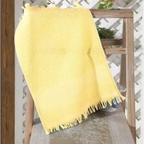Toalha De Lavabo Dohler -Felpudo p/ Bordar Capri II Amarelo