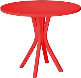 Mesa de Jantar Felice Vermelha