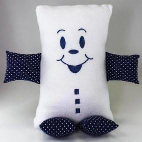 Naninha (Travesseiro) Grande Cuca Criativa Azul-Marinho
