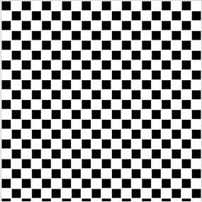 Pastilhas Adesivas Preto E Branco (0,60m x 2,50m)