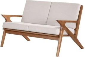 Sofa Milano Estofado Estrutura em Madeira 1,17 MT (LARG) - 51202 Sun House