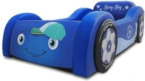 Mini Cama Baby Boy Cama Carro Do Brasil Azul