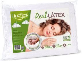 Travesseiro LS1104 Real Látex Duoflex