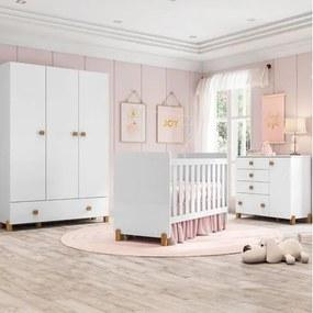 Quarto de Bebê Completo Fofuxo - Branco