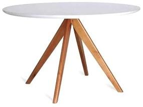 Mesa de Jantar Letícia Tampo de Vidro Design Contemporâneo Casa A Móveis