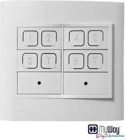 Interruptor Branco 4X4 Inteligente Irpad