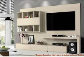 Home Theater Toby Laca Off White Brilhante 2,85 MT (LARG) -49362 Sun House